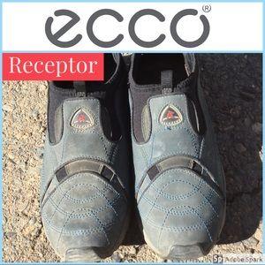 💙ecco 💙 Receptor Blue Sz 8  Comfy $79 Slip On